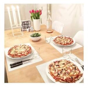 Pastinakpizza med lowcarb fyld
