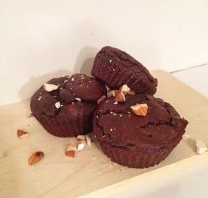 Straccitella muffins