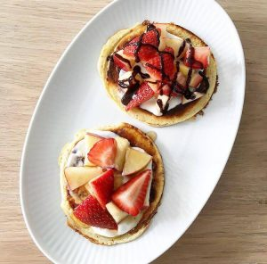 Protein - og dessertpandekager 1
