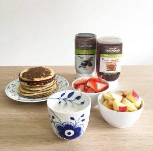 Protein - og dessertpandekager 3