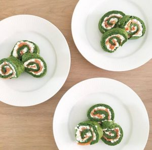 Spinatroulade 2